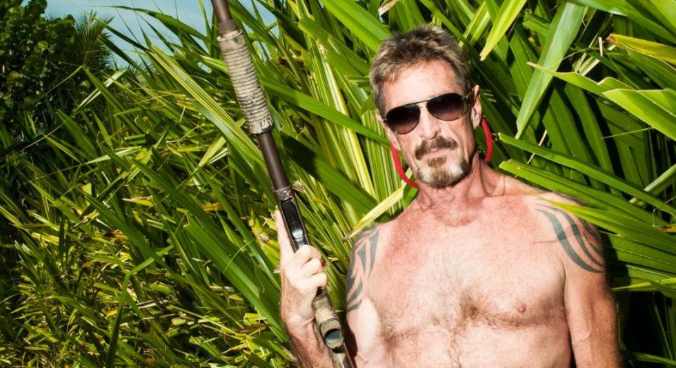 John McAfee dans la jungle
