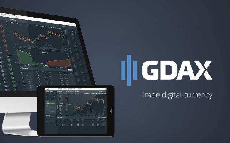 La plateforme GDAX