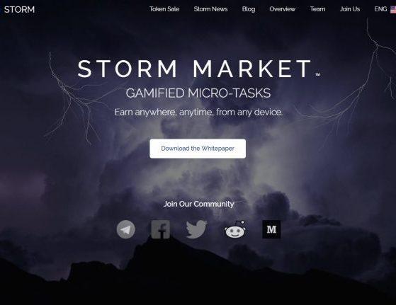 Storm token