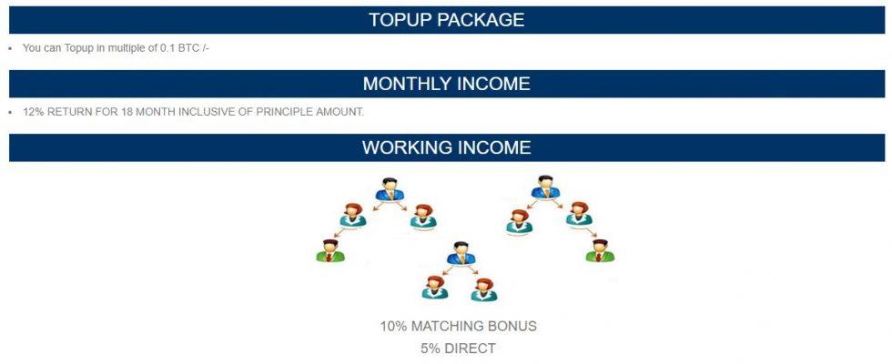 Schéma Pyramidal Bitcoin