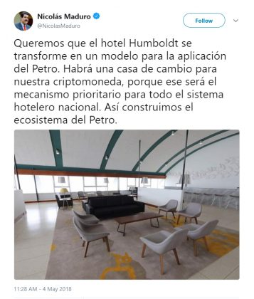 Maduro Humboldt twitter