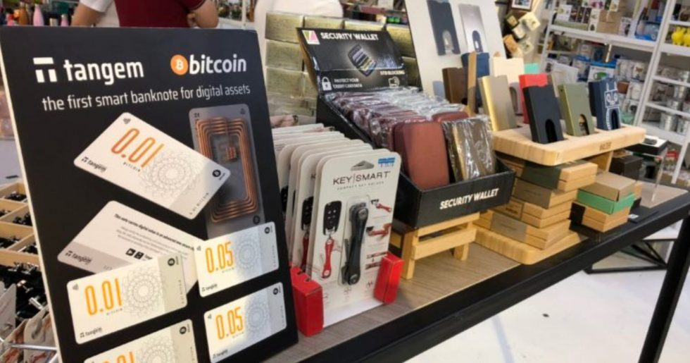Boutique de billets Bitcoin