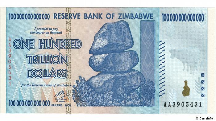 Monnaie Zimbabwe