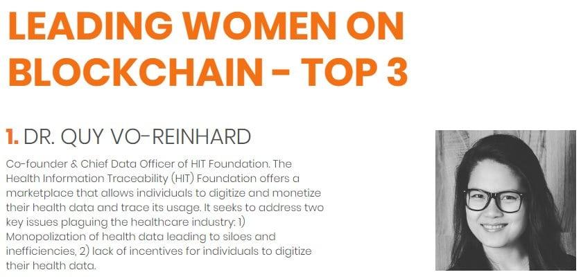 Femmes et blockchain