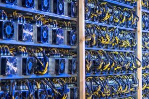 Ferme de minage de Bitcoin