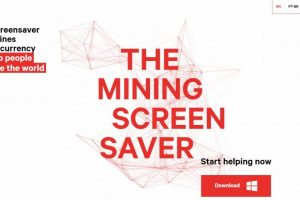 Change.org The Mining Screensaver