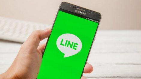 Application de messagerie Line