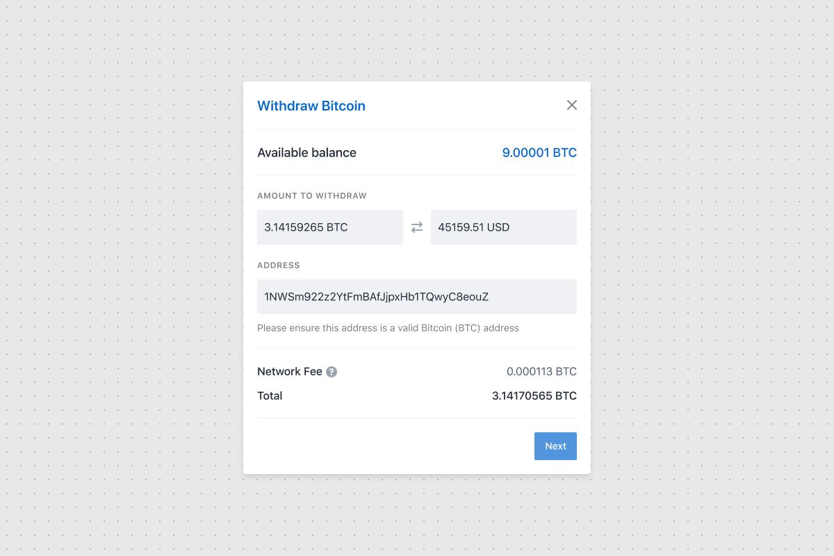 Coinbase commerce envoi de Bitcoin et Litecoin
