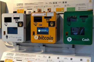 Distributeurs Ethereum, Bitcoin et Bitcoin Cash