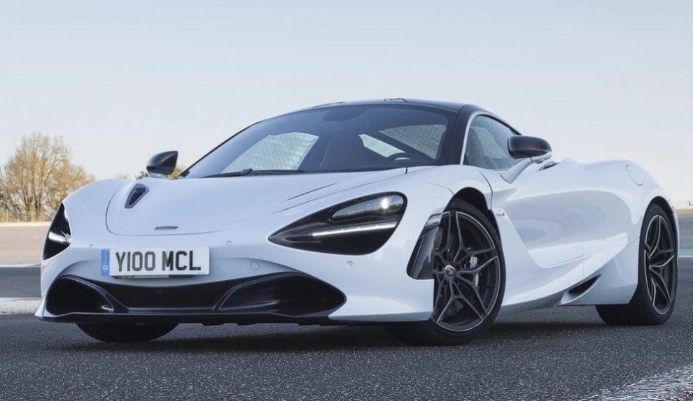 McLaren 2018 blanche