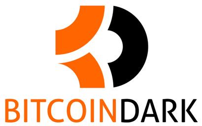Bitcoin dark logo