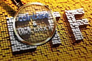 Coinbase et blackrock ETF