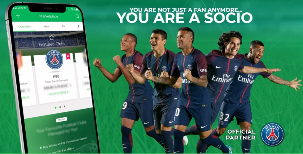 Paris Saint-germain et socios.com