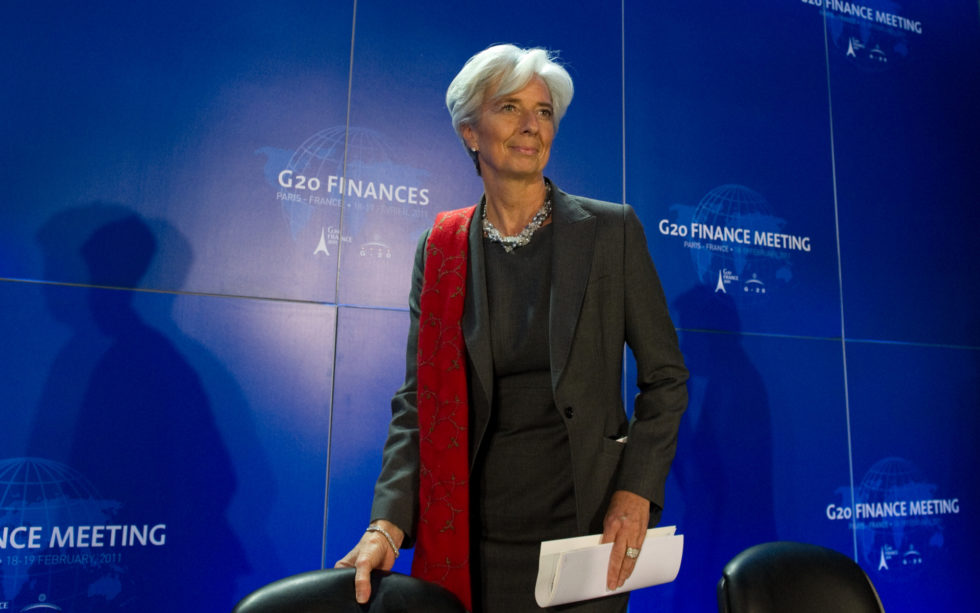 Christine Lagarde G20
