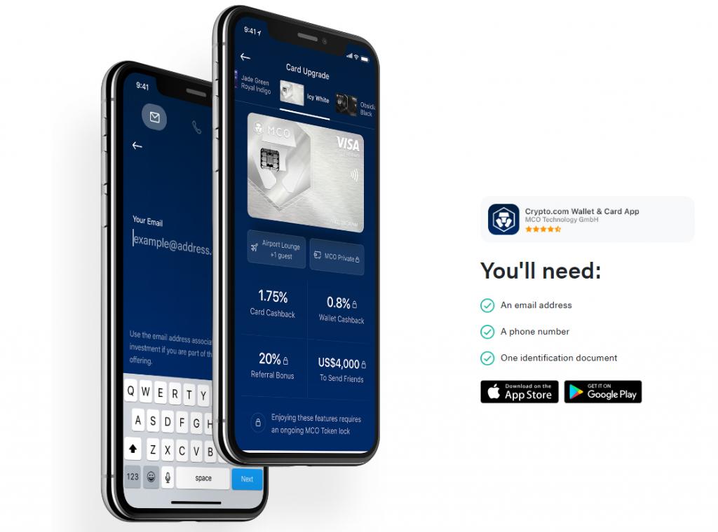 Crypto.com carte visa