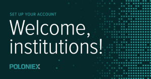Institutions poloniex