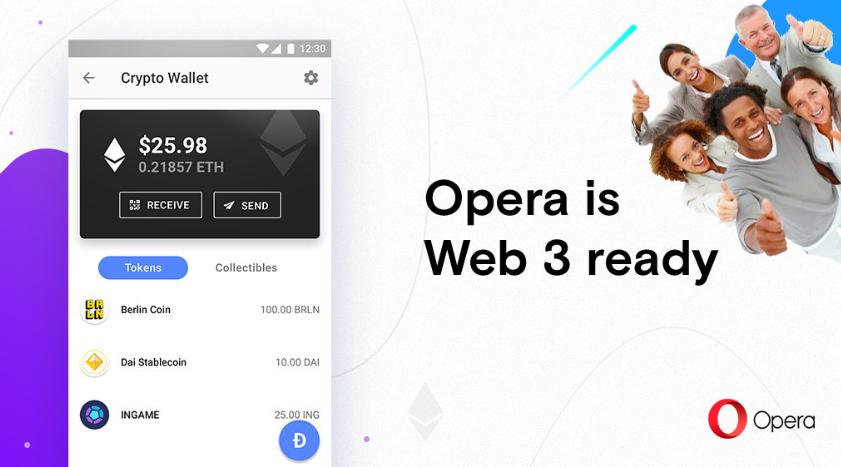 Opera Web 3.0