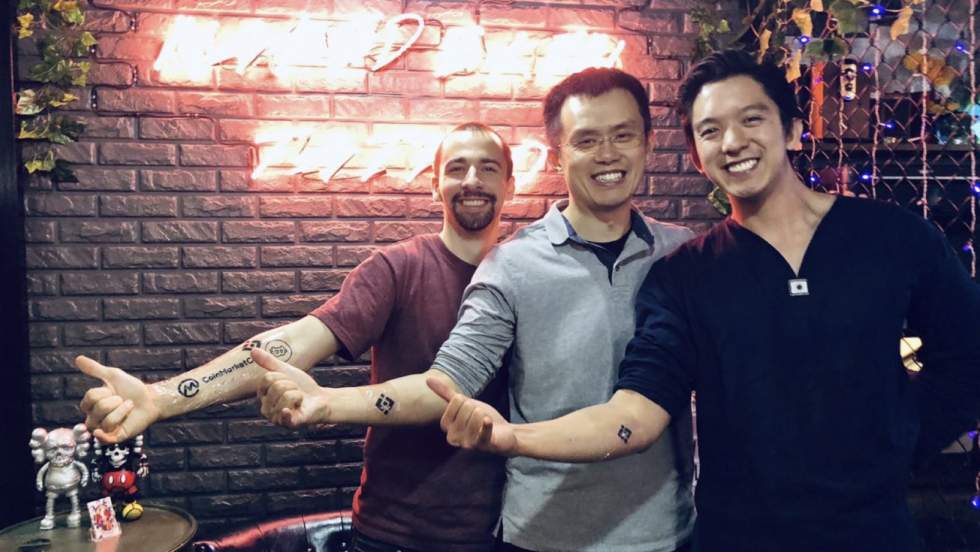 Tatouage Binance