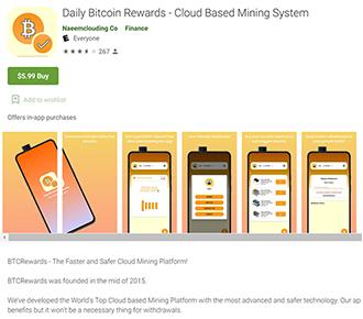 Arnaque Daily Bitcoin Rewards