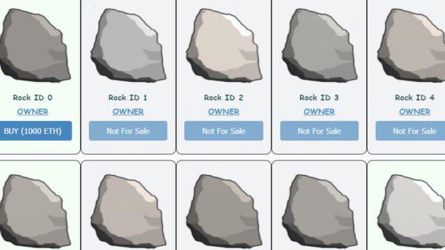 Ether Rocks