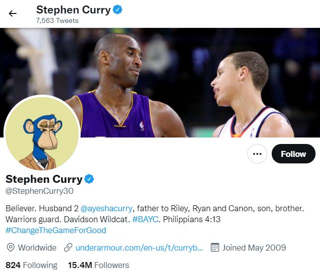 Stephen Curry NFT