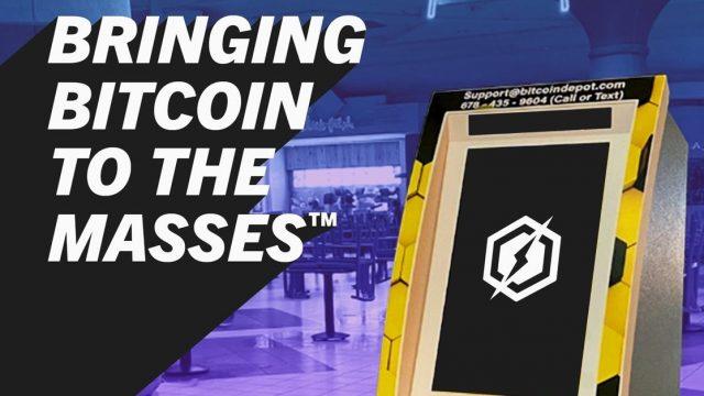 Distributeur de Bitcoin CoinDepot