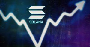 Hausse du cours de Solana