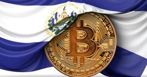 Salvador pièce Bitcoin
