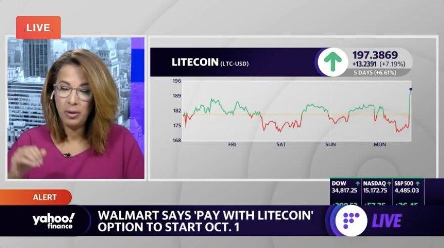 Yahoo Finance Walmart